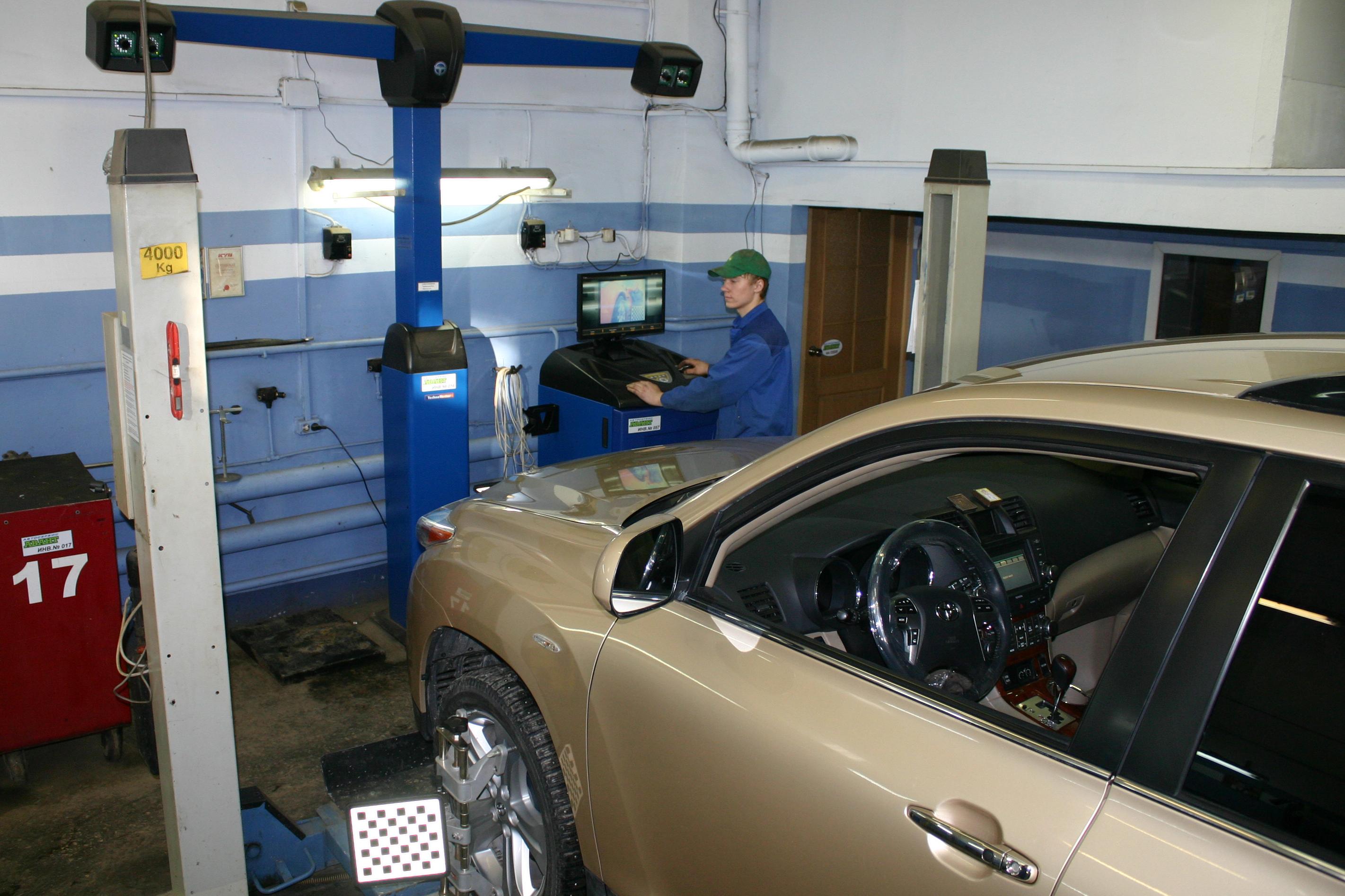 Техническое обслуживание и ремонт Тойота