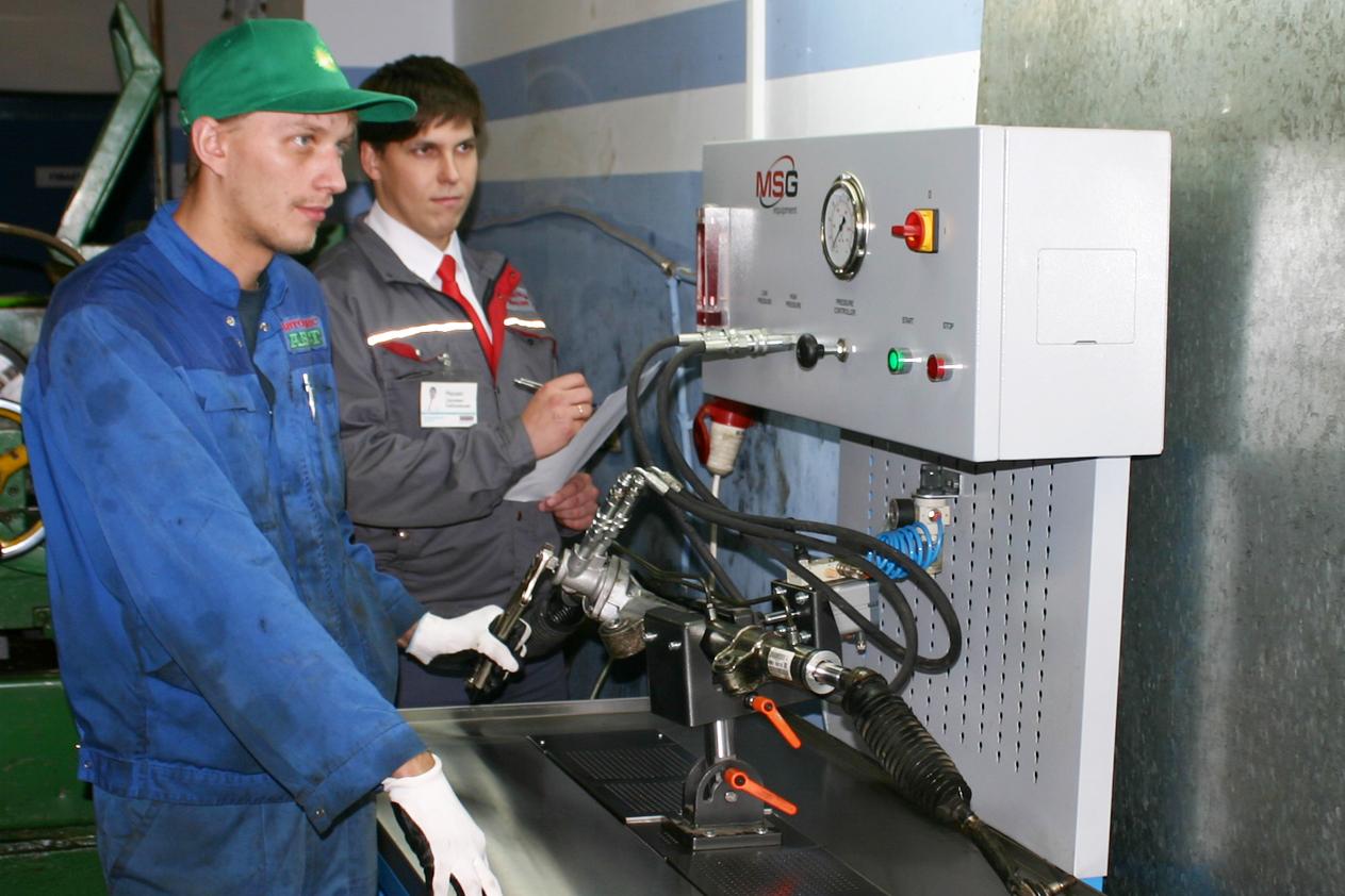 Ремонт рулевых реек проверка рейки на работоспособность